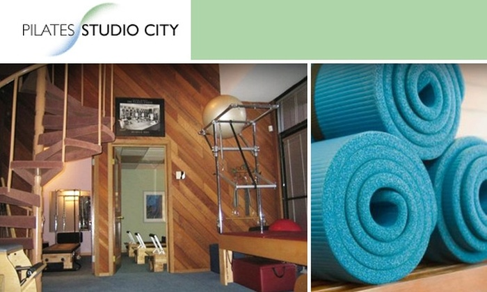 Pilates Studio City - Multiple Locations: $30 for Five Group Classes at Pilates Studio City. Choose from Pilates Mat, Yoga, Gyrokinesis, Belly Dance, and More ($60 Value)