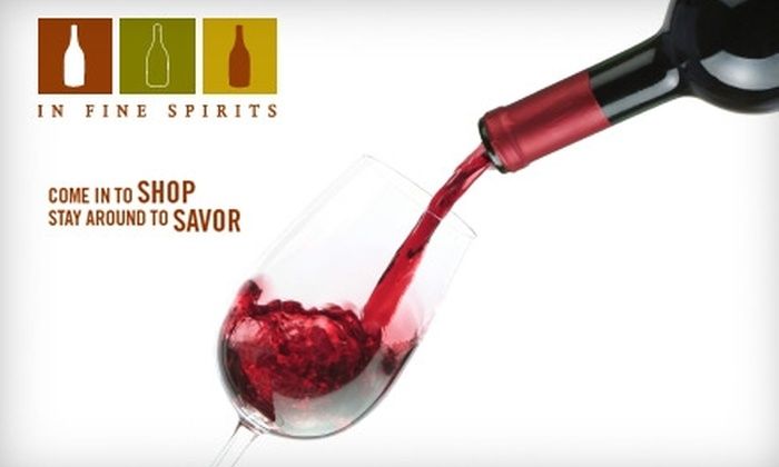 In Fine Spirits  - Edgewater: $25 for $50 Worth of Upscale Seasonal Fare and Drinks at In Fine Spirits