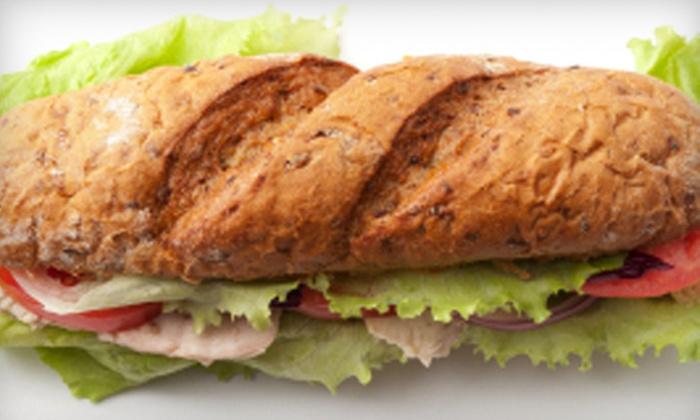 Johnny McGuire's Deli - Enterprise: $10 for Sandwiches and Fries for Two at Johnny McGuire's Deli ($21 Value)