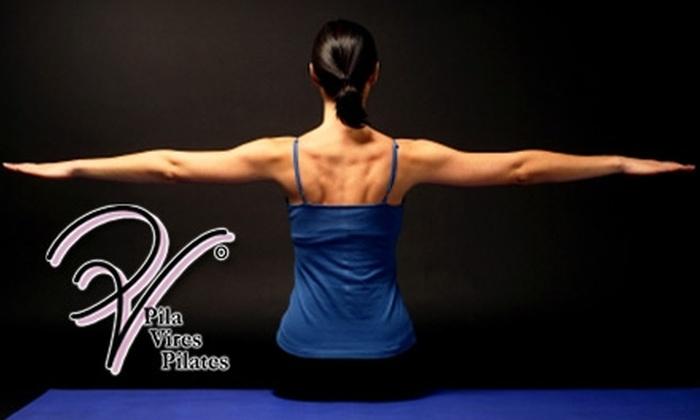 Pila Vires Pilates - Downtown Colorado Springs: $25 for Five Floor Classes at Pila Vires Pilates ($65 Value)
