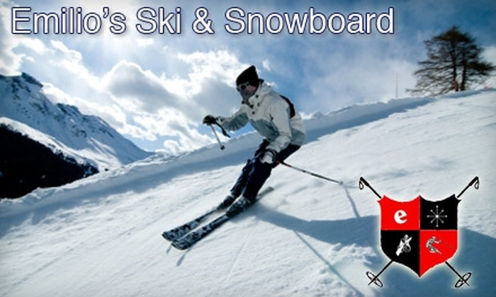 Emilio's Ski Shop - Rego Park: $20 for a Ski/Snowboard Tune-Up at Emilio's Ski Shop in Forest Hills