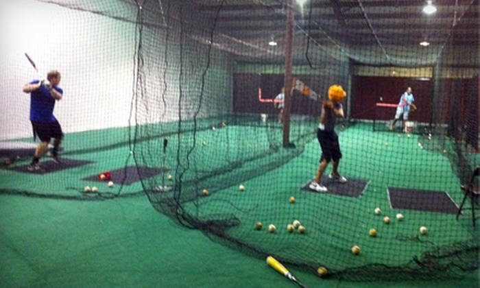 Carolina Cages - Northeast Arcadia Lakes:  Batting-Cage Session with Pitching Machine Baseball Classes at Carolina Cages