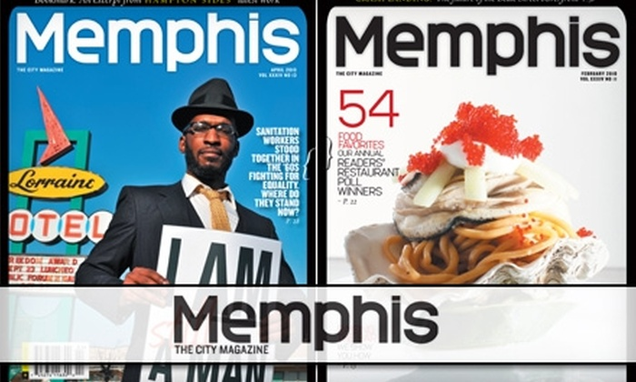 """Memphis"" Magazine - Memphis: $7 for a One-Year Subscription to ""Memphis"" Magazine"