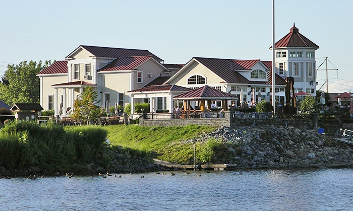 The Waters Edge Lighthouse Restaurant - Glenville: Dinner at The Waters Edge Lighthouse Restaurant (Up to 44% Off).
