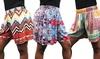 Ladies' Printed Shorts: Ladies' Printed Shorts