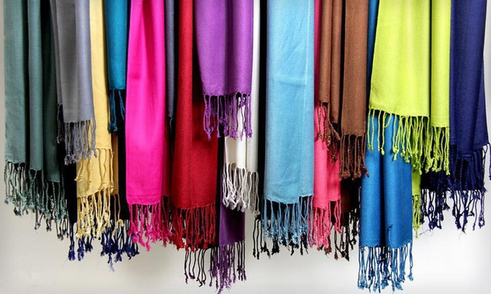 In Things Pashmina Scarves: $24 for Three In Things Pashmina Scarves ($120 List Price). Multiple Colors Available. Free Shipping and Returns.