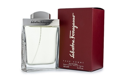 Salvatore Ferragamo for Men Eau de Toilette; 3.4 Fl. Oz.
