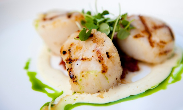 Indulge in a 4-Course Sustainable Seafood Fest Inside Russet - Russet: $50 for a Four-Course Sustainable Seafood Feast with Chef Andrew Wood at Russet ($65 Value)