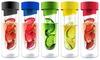 Asobu Flavour It Fruit-Infuser Bottles (2-Pack): Asobu Flavour It Fruit-Infuser Bottles (2-Pack)