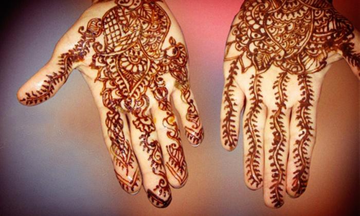 Navrung Expressions - Schaumburg: Henna Tattoos at Navrung Expressions (Half Off). Two Options Available.