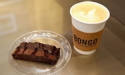 $10.50 for Five Groupons, Each Good for One Beverage at Bongo Java/Cash Museum (Up to $22.50 Total Value)