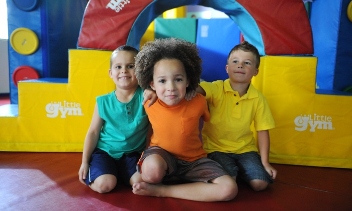 The Little Gym - Multiple Locations: $65 for Four Children's Classes and Annual Membership at The Little Gym (Up to $150 Value)