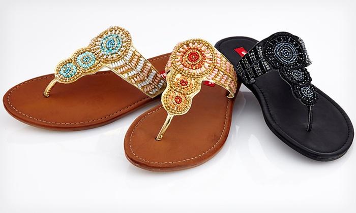 f09a790a9d2  19.99 for Unionbay Women s Thong Sandals