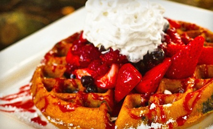 $14 Groupon to Waffles INCaffeinated - Waffles INCaffeinated in New Brighton