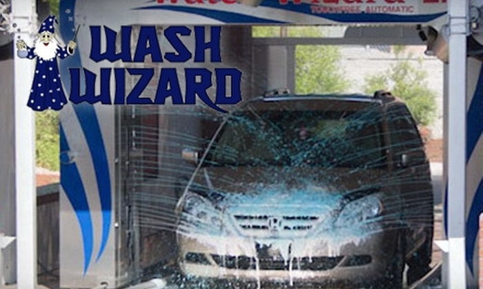 Wash Wizard - Multiple Locations: $12 for $25 Worth of Car Washes at Wash Wizard