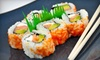 Club Sushi and Steak at Mohegan Manor - Baldwinsville: $10 for $20 Worth of Sushi at Club Sushi and Steak at Mohegan Manor in Baldwinsville
