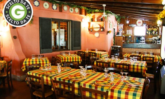 Ostaria La Baracca - Ostaria La Baracca: Ostaria La Baracca - Menu con antipasti, primo, grigliata mista di carne e vino da 29 €