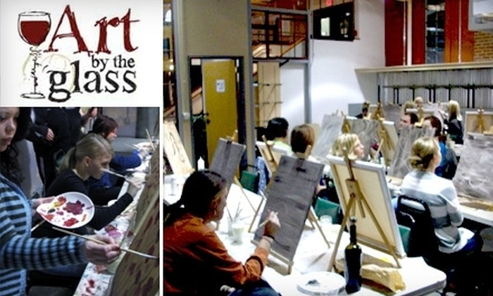 Art by the Glass - Edgehill: $20 for One Creative Class at Art by the Glass