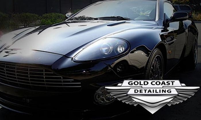 Gold Coast Detailing - San Buenaventura (Ventura): $30 for an On-Location Car Wash and Wax from Gold Coast Detailing