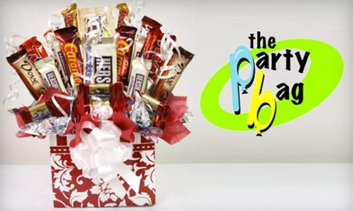 The Party Bag - Abilene Heights Area: $15 for a Candy Bouquet at The Party Bag ($30 Value)