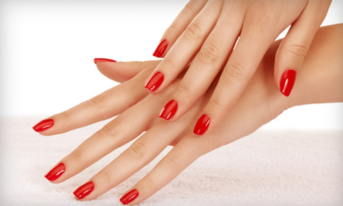 One Stop Nail and Beauty Salon - Makiki - Lower Punchbowl - Tantalu: $16 for a Gelish Manicure with Paraffin Hand Treatment at One Stop Nail and Beauty Salon ($32 Value)