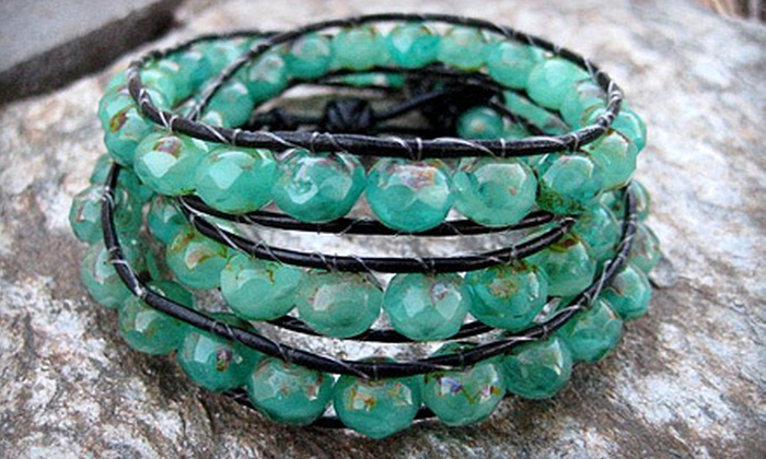 A Bead of Roses - Newtown: $25 for a Jewelry-Making Class for Two and a $10 Credit for Materials at A Bead of Roses in Newtown (Up to $130 Value)