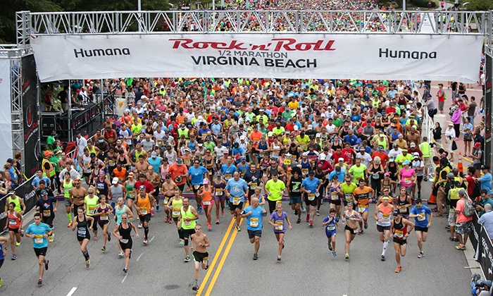 Humana Rock 'n' Roll Virginia Beach Half Marathon - The Virginia Beach Convention Center: Exclusive Presale: Entry to Humana Rock 'n' Roll Virginia Beach Half Marathon on Sunday, September 4, 2016 at 7 a.m.