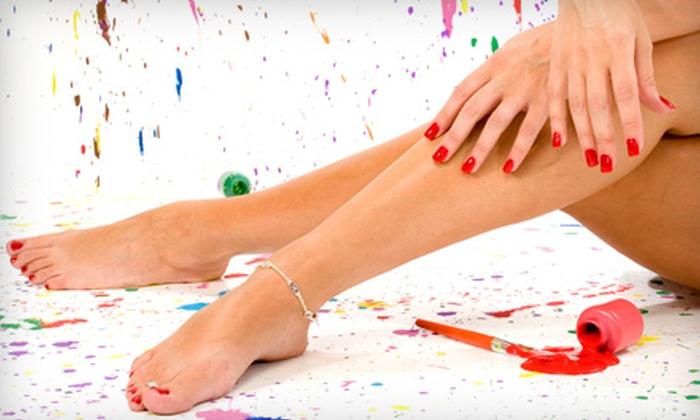 Evolutions Salon - Brandermill: Basic Mani-Pedi or Shellac Manicure and Basic Pedicure at Evolutions Salon (Half Off)