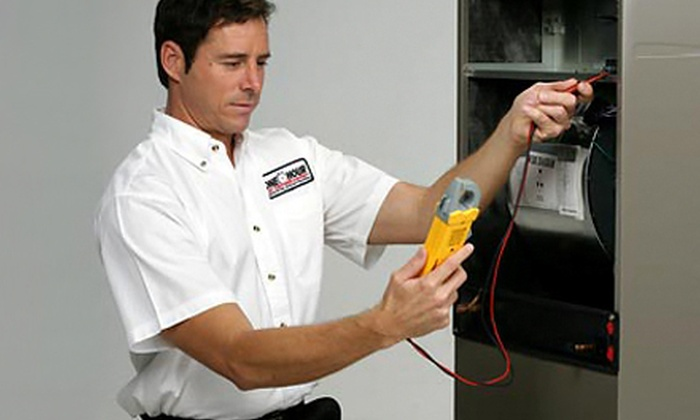 One Hour Heating and Air Conditioning - Downtown Riverside: $29 for an Air-Conditioning or Furnace Tune-Up from One Hour Heating and Air Conditioning ($179 Value)