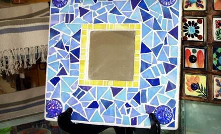 Four-Hour Beginners Stained-Glass-Mosaics Class for One (a $125 value) - Nizza Mosaic Studio & Gallery in Houston