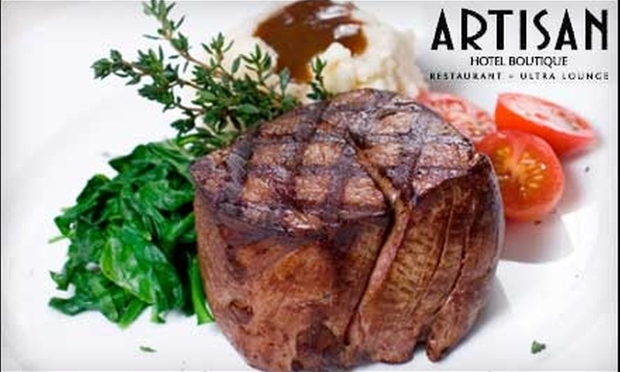 Mood Restaurant - Las Vegas: $25 for $50 Worth of Contemporary American Fare and Drinks at Mood Restaurant at the Artisan Hotel Boutique