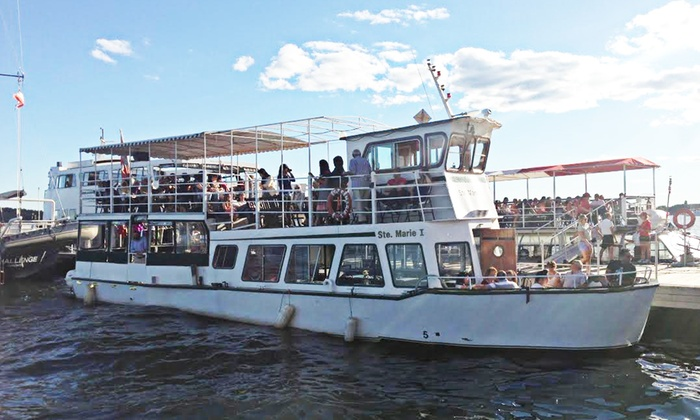 Ste Marie 1 Cruise Lines - Harbourfront Centre: Harbour and Seven-Island Boat Tour for One, Two, or Four from Ste Marie 1 Cruise Lines (53% Off)