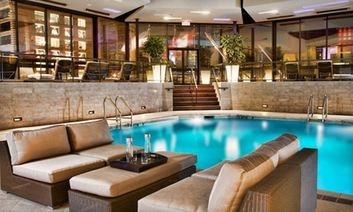 Hyatt Regency Montreal - Montreal: $149 for a One-Night Stay, Breakfast for Two, Hors D'oeuvres, and Club Access at Hyatt Regency Montreal (Up to $299 Value)