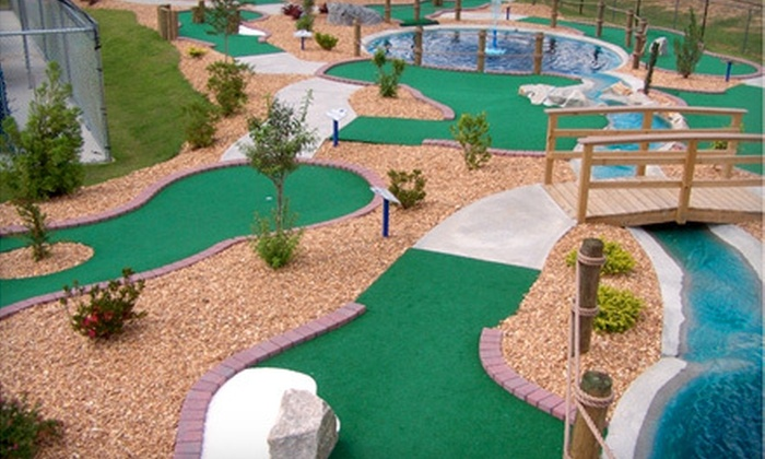 Fun Fun Fun - Douglas Byrd: $30 for 200 Game Tokens and Five Games of Laser Tag or Mini Golf at Fun Fun Fun in Hope Mills (Up to $60 Value)