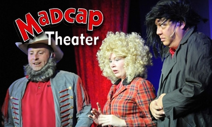 Madcap Theater - North Central Westminster: $10 for One Ticket to Any Improv Show at Madcap Theater in Westminster ($18 Value)