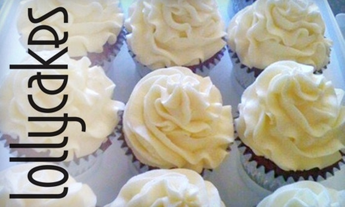 Lollycakes Cupcakes - South Side: $12 for 24 Mini Cupcakes at Lollycakes Cupcakes ($24 Value)