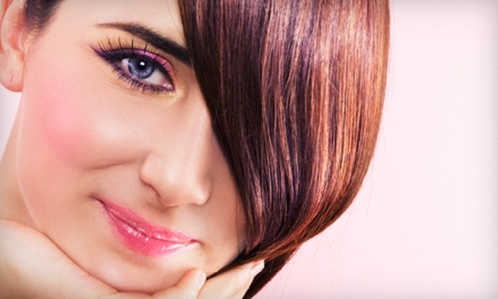 Coloroom Salon DaySpa and Boutique - Shawnee: $75 for a Haircut, Highlights, and Facial Peel at Coloroom Salon DaySpa and Boutique in Shawnee ($150 Value)