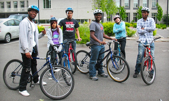 Bike Works - Seattle: If 42 People Donate $10, Then Bike Works Can Provide Bicycle Locks and Helmets to 14 Students in Its Youth Cycling Program