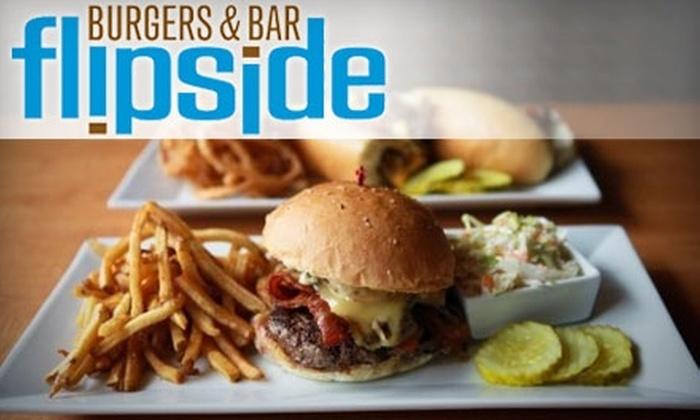 Flipside Burger & Bar - Fairfield: $8 for $16 Worth of Burgers, Beers, Shakes, and More at Flipside Burger & Bar