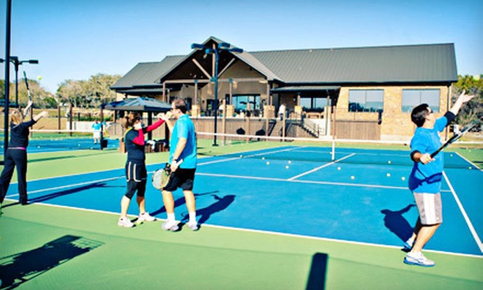 John Newcombe Country Club - Champions Village: Two or Four Cardio Tennis Sessions, or Beginners' Tennis at John Newcombe Country Club in New Braunfels (Up to 73% Off)
