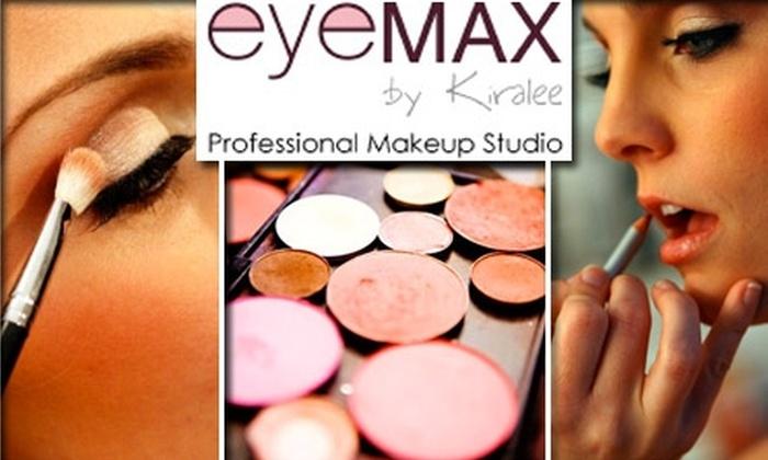 EyeMAX Makeup Artistry - Fishers: $20 for $55 Toward Custom Cosmetics, Makeup Lessons, Facials, and More at EyeMAX Professional Makeup Studio