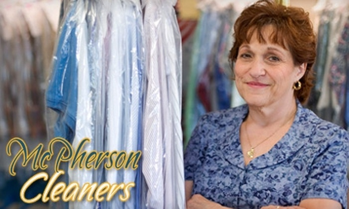 McPherson Cleaners - Lebanon: $15 for $30 Worth of Dry Cleaning Services at McPherson Cleaners in Nashville and Lebanon