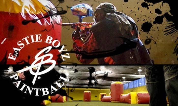 Eastie Boyz Paintball - Islington - City Centre West: $20 for a Four-Hour Paintball Package at Eastie Boyz Paintball ($50 Value)