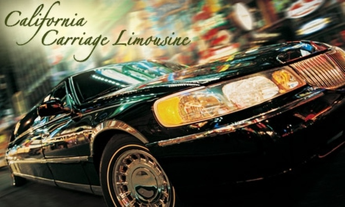 California Carriage Limousine - Danville: Airport Pick-Up and Drop-Off from California Carriage Limousine. Choose Between Two Options.