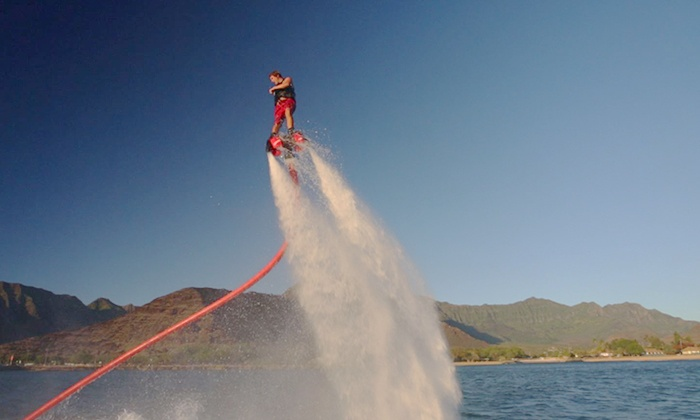 Flyboard Idaho Water Sports - Franklin - Randolph: 40-Minute Flyboard Flight Experience at Flyboard Idaho Water Sport (Up to 39% Off)