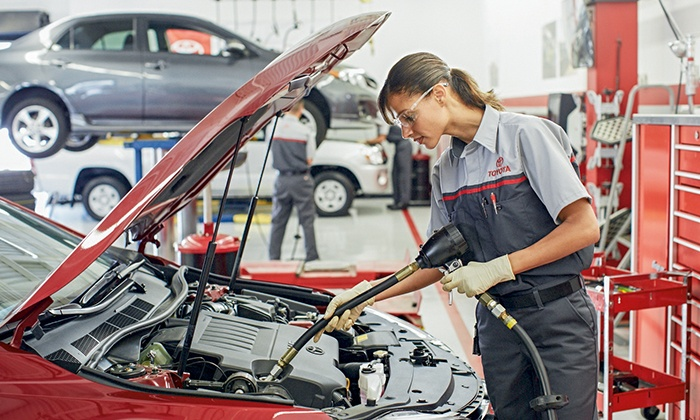 Central City Toyota - Philadelphia:  $22 for Oil Change, Tire Rotation & Multi-Point Inspection at Central City Toyota