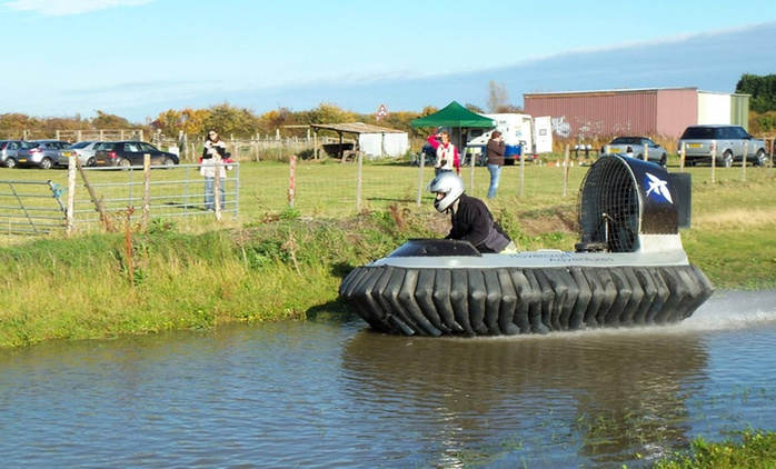 Hovercraft Adventures: Training Plus Laps For One, Two or Four from £29 (Up to 72% Off)