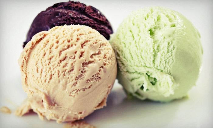 The Boston Ice Cream Company - Livingston: $12 for Ice Cream at The Boston Ice Cream Company ($25 Value)