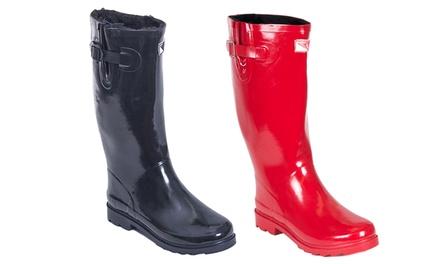 Lastest Women39s Rubber Rain Boots  Groupon Goods