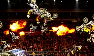 Nitro Circus Live On Friday, September 2, At 7:45 P.m.